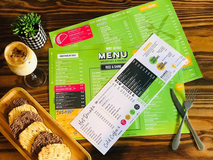 New menu is ready and out !!!