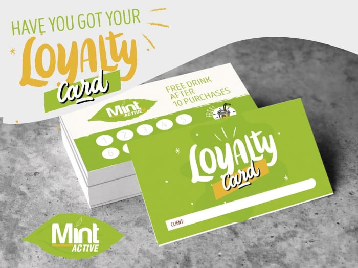 Have you got your loyalty card?