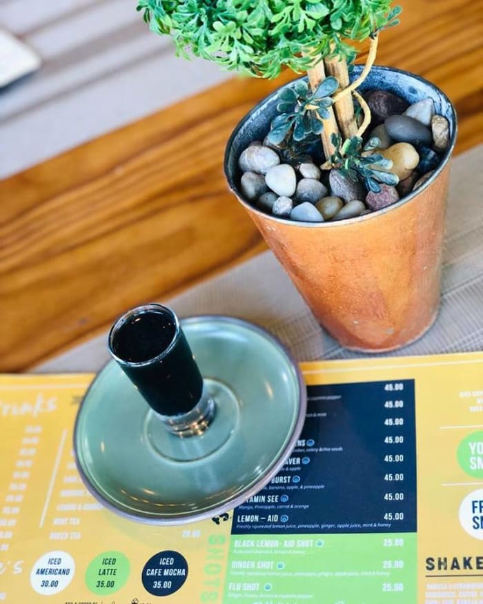 Get weekend ready with Mint Lounge's detox shot
