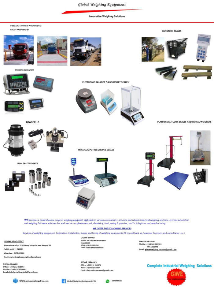 Get in touch for quality and affordable weighing solutions