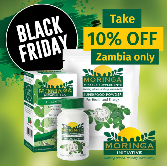 10% off all Moringa Miracle Health products