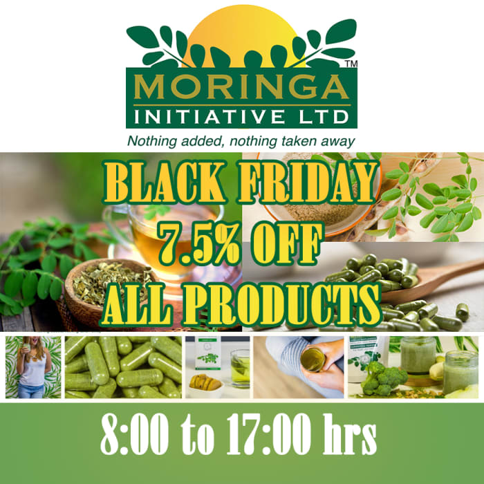 Black Friday deals - 7.5% off all products