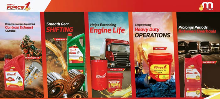 High quality Force 1 Lubricants for every segment