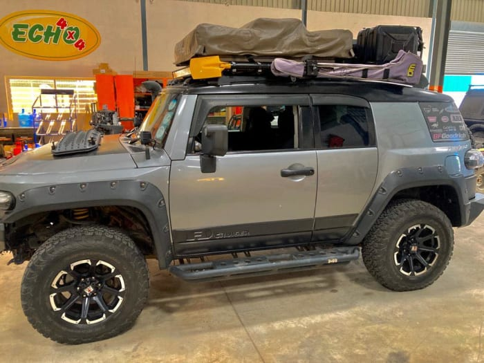 FJ Cruiser 2011 Fully kitted 4x4 Camper at US$52000