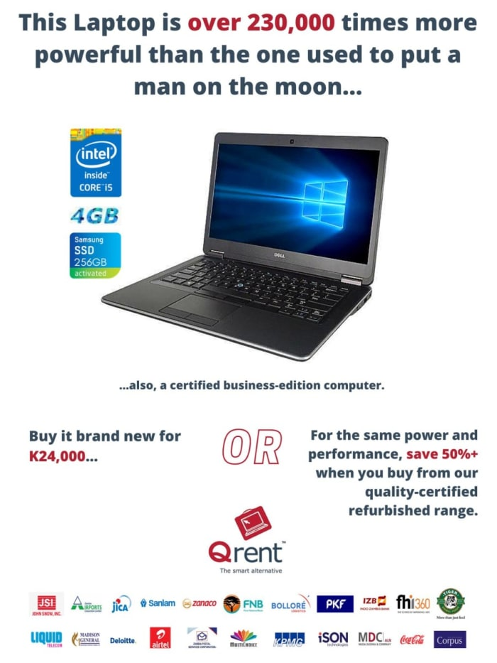 Buy your business-edition refurbished computers for half the price yet same performance as brand new.