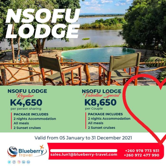 Nsofu Lodge package - 2 nights stay