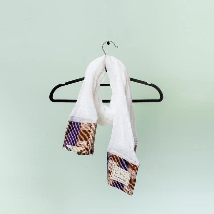 Beautiful 100% cotton and chitenge scarves by One Day Gifts
