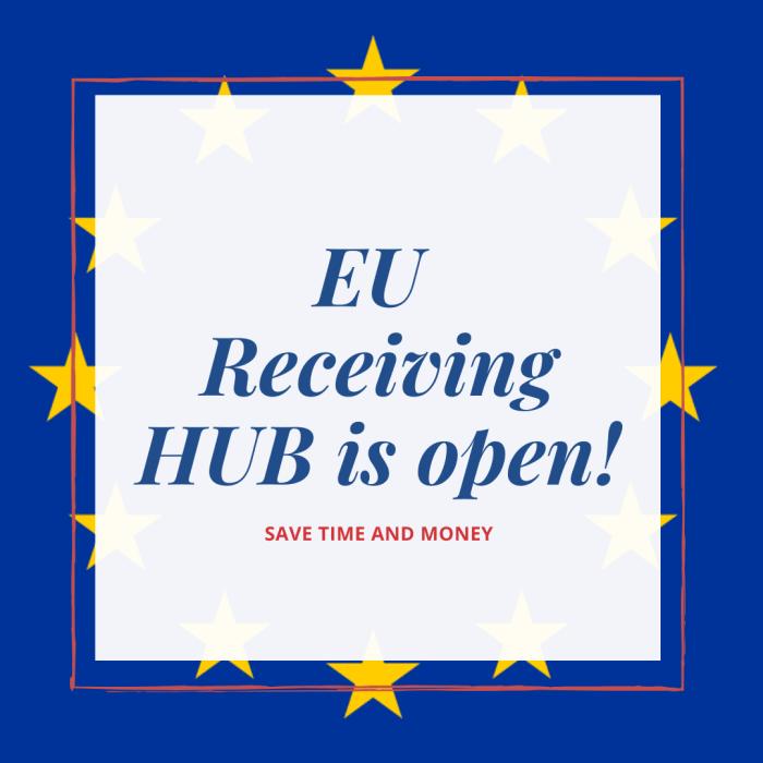 NEW – iShop & Online Express EU Receiving Hub is open!