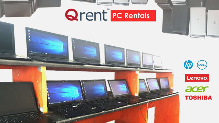 Laptops available for short term or long term hire