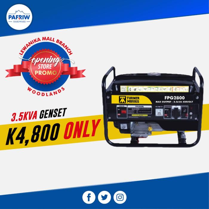Special offer on 3.5KVA Turner Morris Genset