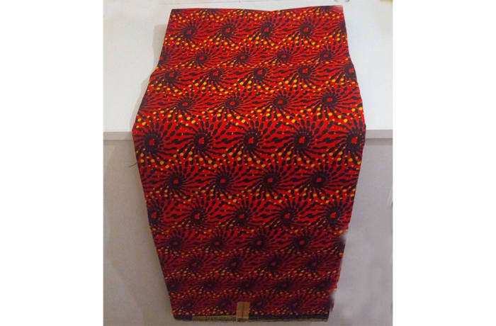 Quality fabric lengths in African print