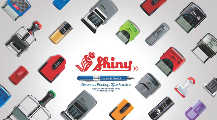 Order your unique Shinny self-inking stamp