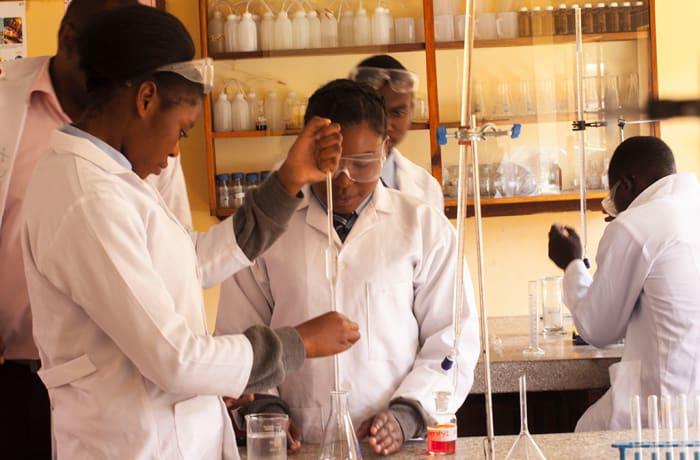 New science laboratories