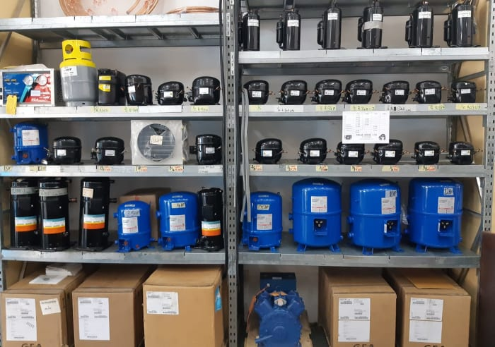 Bock, Maneurop, and Domestic Compressors available in stock