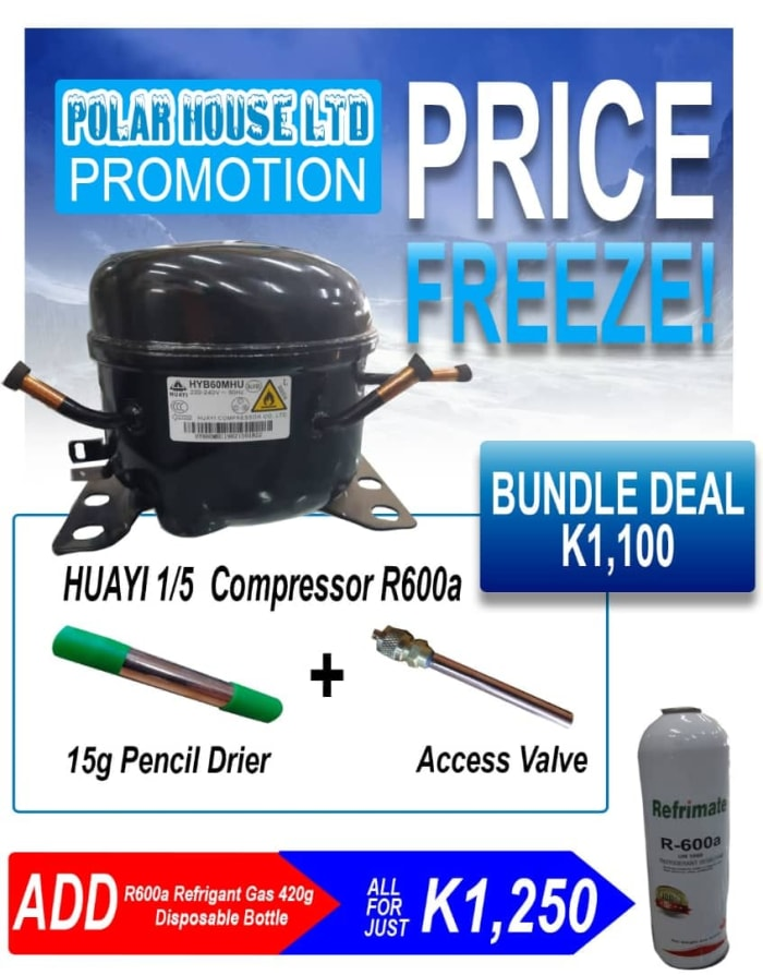 Special Deal on Huayi 1/5 R600 Domestic compressor