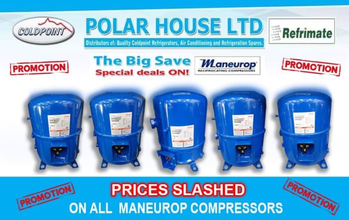 Special deals on Maneurop compressors