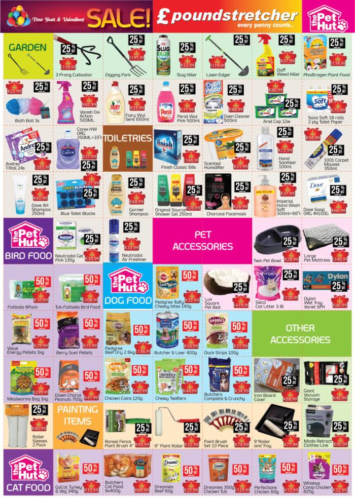 Poundstretcher sale - Upto 50% off pet supplies
