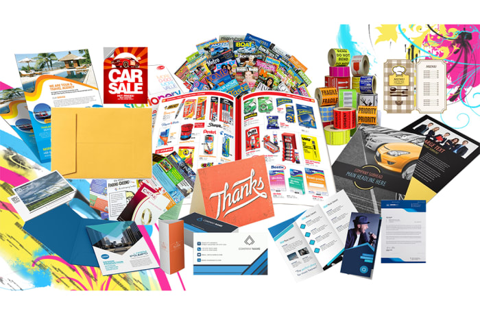 Professionally designed and printed stationery