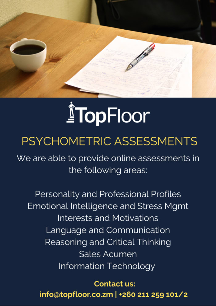 Engage TopFloor for online Psychometric tests