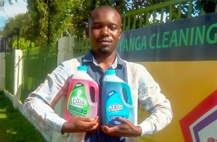 Eco-friendly toilet and tile cleaners