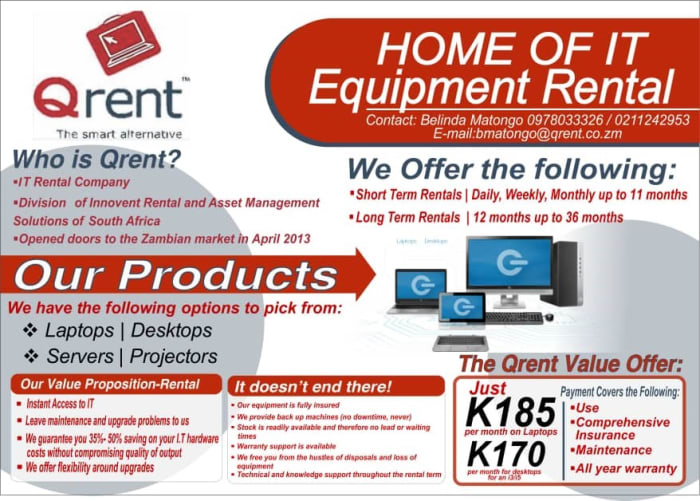 Home of IT equipment rental