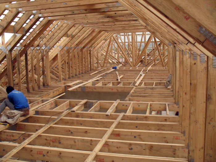 As MiTek agents, Rainlands manufacture and install software engineered roof trusses