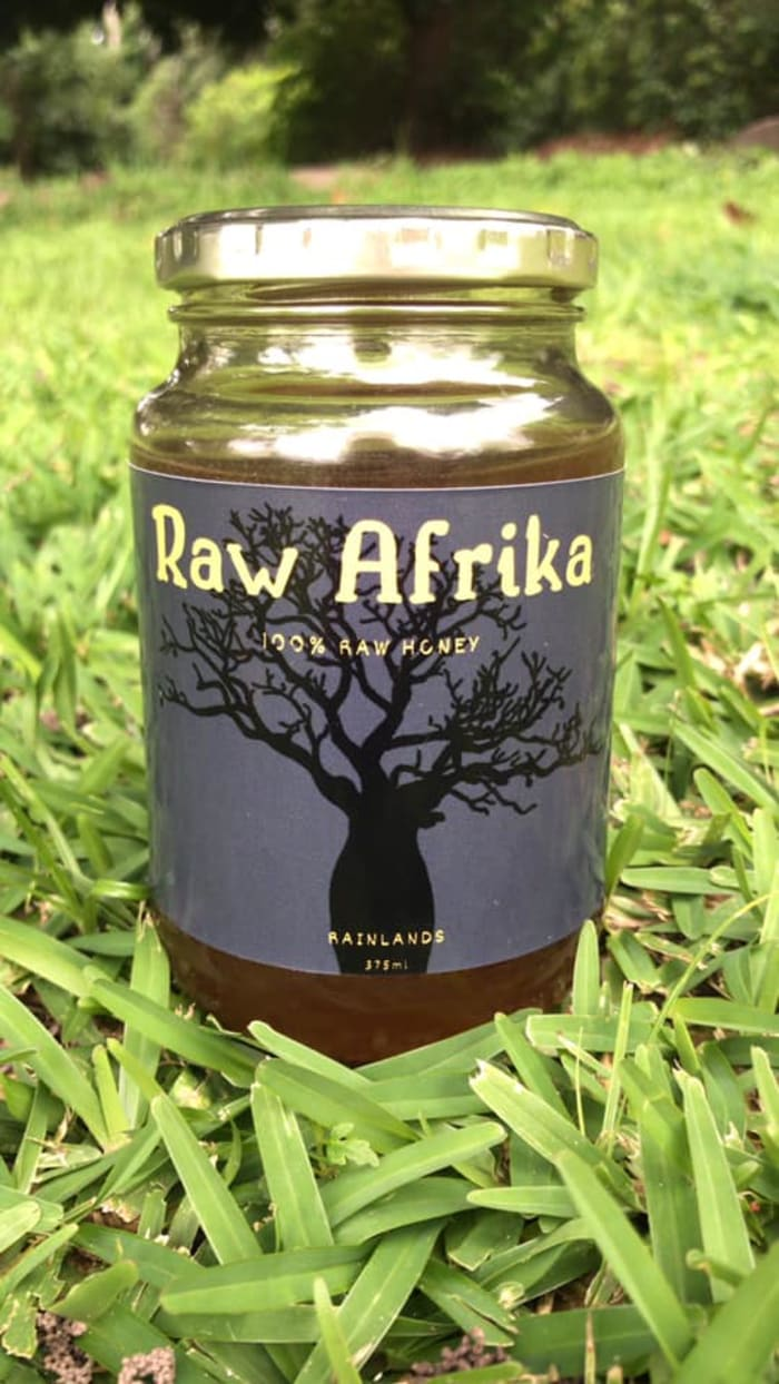 Raw Afrika honey is now for sale at K100 per bottle!