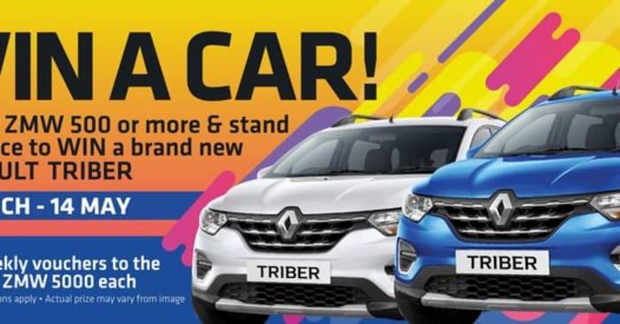 Win a Renault Triber at Mandahill