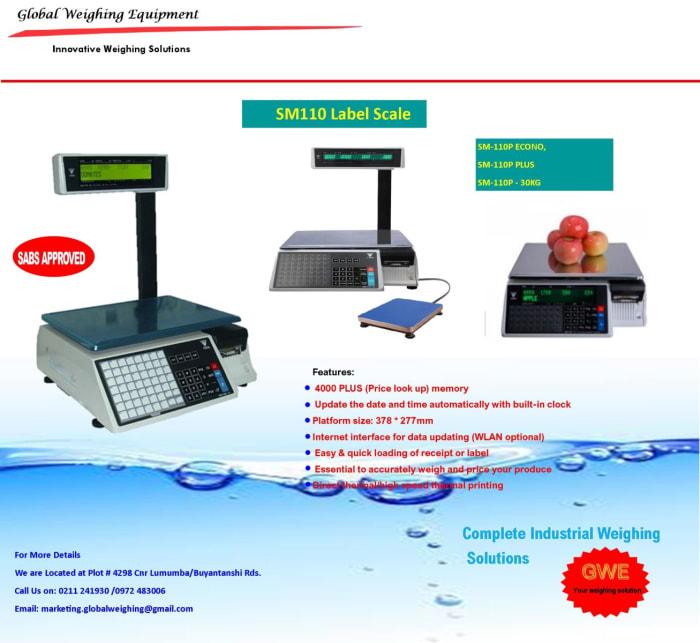 SM110 Label Scale
