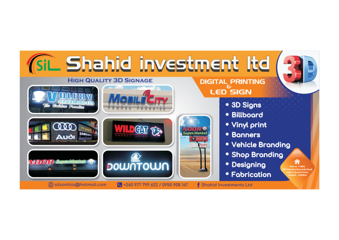Visit Shahid Investments for high quality 3D printing