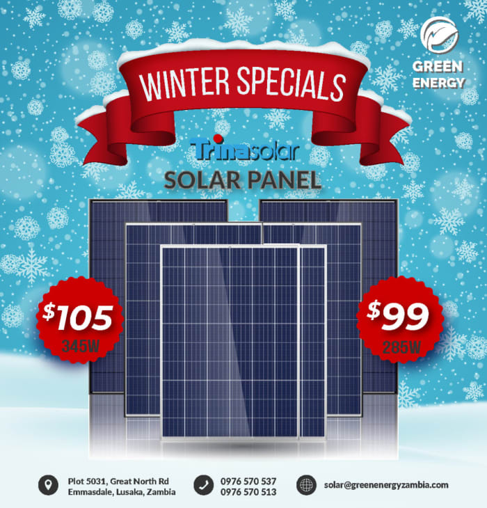 Special offer on Trinasolar panels