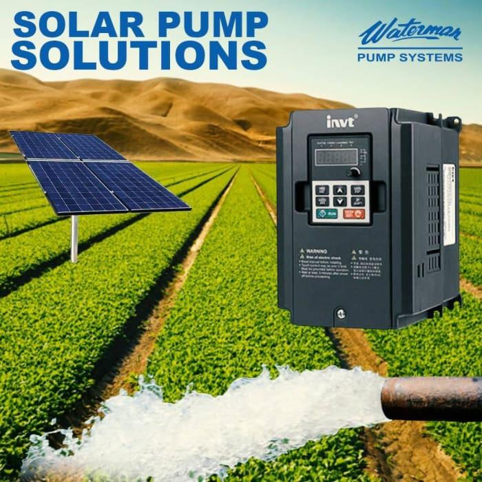 Purchase solar water pump inventers at Waterman Ltd