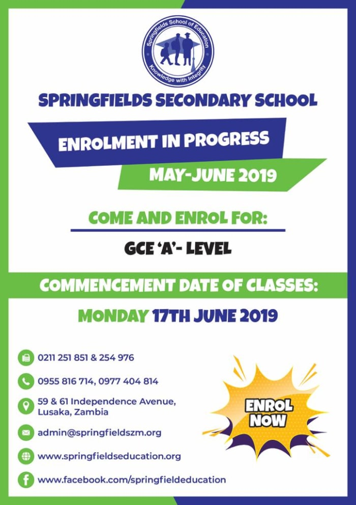 "Enrollments open for GCE ""A""- level programs"