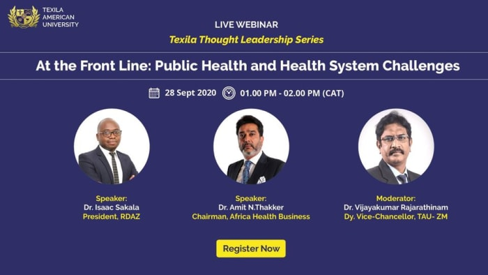Webinar: At the Front Line: Public Health and Health System