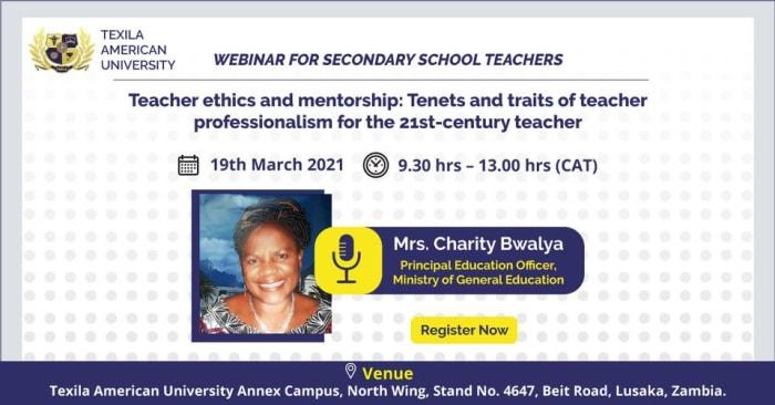 Webinar For Secondary School Teachers