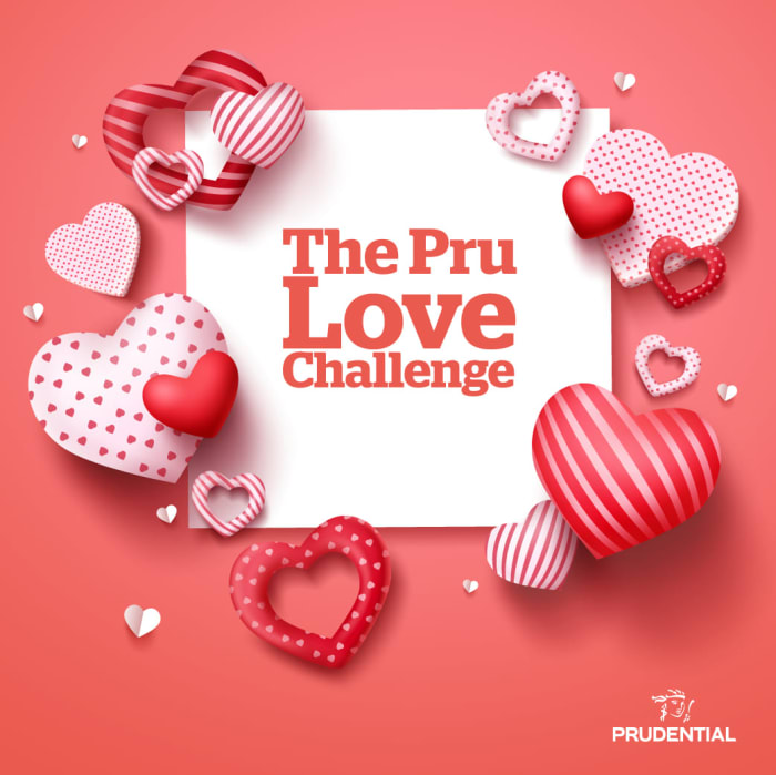 Stand a chance to win a K750 dinner voucher in the Pru Love Challenge