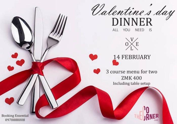 Valentine's dinner, K400 for 2