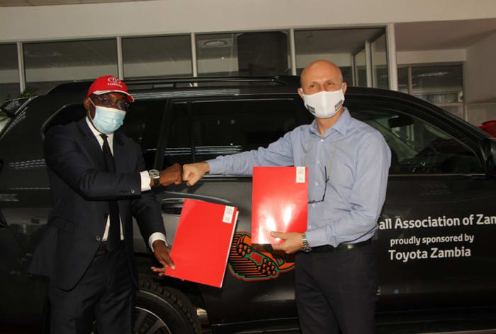 Toyota Partners with Football Association Of Zambia