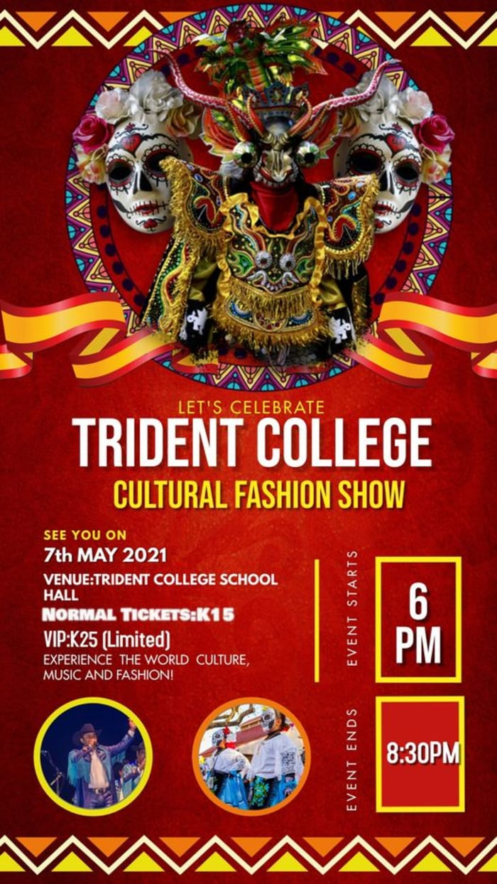 Come and experience the world Culture, music and fashion!