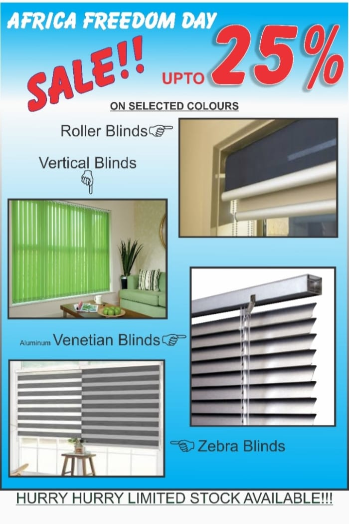 Up to 25% off selected Blinds
