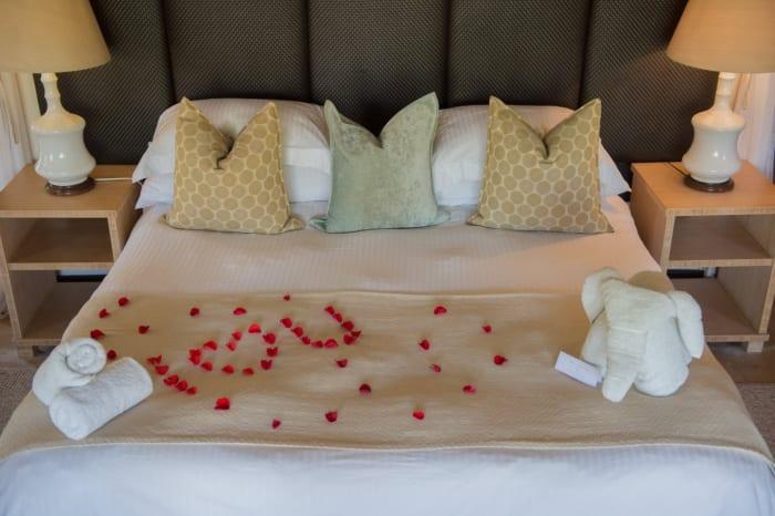 A romantic night for K3,500 per couple