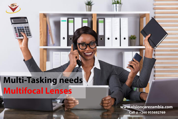 Switch to a Progressive lens for effortless vision