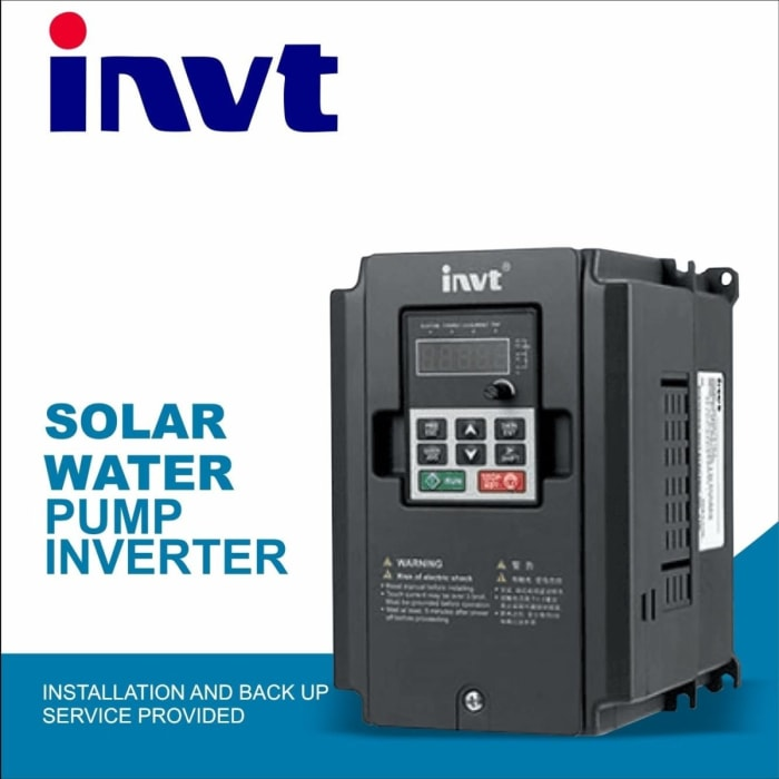 Solar Water Pump inverter available for your solar water systems