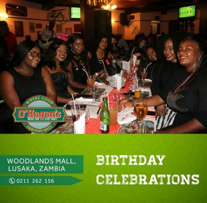 Unique birthday parties at O'Hagan's Lusaka