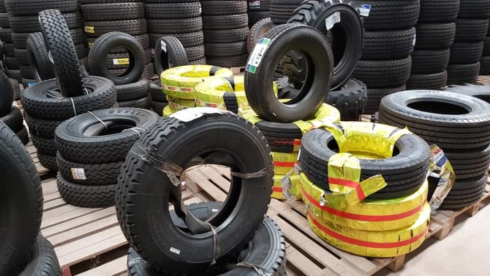Commercial tyres on promotion