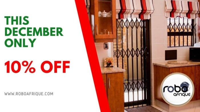 10% Off Robodoors and burglar bars