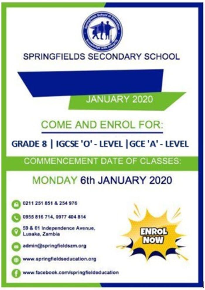 Grade 8, IGCSE, GCE 2020 Enrolment
