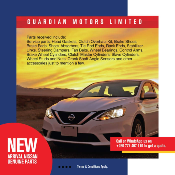 Nissan Genuine parts available in stock