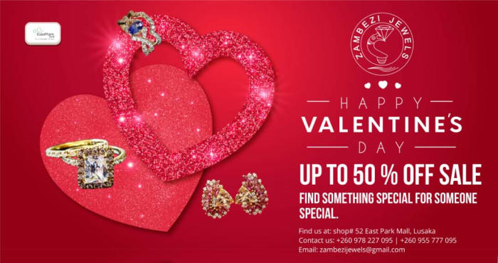 This Valentine surprise your loved one with well-crafted jewellery from Zambezi Jewels