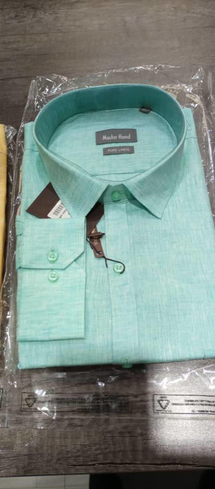 New stock on men's linen shirts